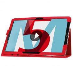 Husa tableta Huawei MediaPad M5, 10.8 inch - Rosie