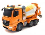 Cumpara ieftin Masina Double Eagle, Conrete Mixer Truck Mercedes-Benz Arocs RC 1:20 2.4GHz cu telecomanda