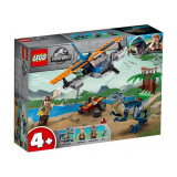 LEGO Jurassic World Velociraptor: misiunea de salvare cu biplanul No. 75942