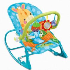 Scaun stabil pentru bebe Albastru