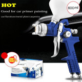 Pistol Vopsit Aer comprimat  Compresor 600ML Duza 2.0mm