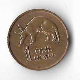 Moneda 1 ngwee 1983 - Zambia