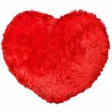 Perna Inima Rosie Pufoasa - 45 cm