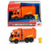 Masina de gunoi Dickie Toys, cu lumini si sunete, 15 cm