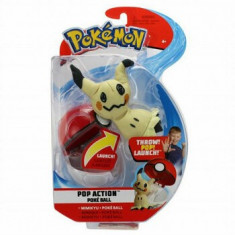 Pokemon figurina Mimikyu in bila lansatoare