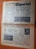 Sportul 29 aprilie 1981-fotbal anglia romania pe wembley,interviu dobrin