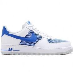 Pantofi Barbati Nike Air Force 1 07 488298150, 42.5, Albastru