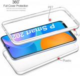 Husa Crystal cu protectie 360° fata + spate pt. Huawei Mate 40 Pro, P Smart 2021, Alt model telefon Huawei, Transparent, Silicon