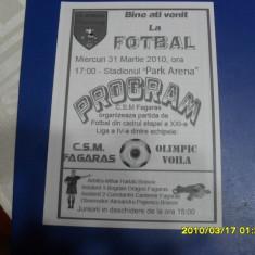 program       CSM  Fagaras -  Olimpic  Voila