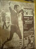 Revista Sport (nr. 6 martie 1971) - Universitatea Cluj Napoca - eterna poveste