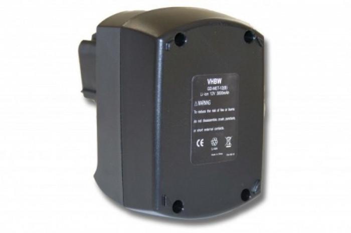 Acumulator pentru metabo wie 6.25486.00 u.a. 12v/li-ion/3000mah, 6.25486.00FüR FOLGENDE MODELLE,