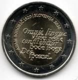 Moneda 2 euro comemorativa SLOVENIA 2020, UNC, Europa, Cupru-Nichel
