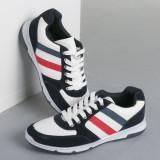 Pantofi sport barbati Cozia alb cu navy, 40, 42 - 44