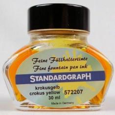 Cerneala Standardgraph galben 30 ml