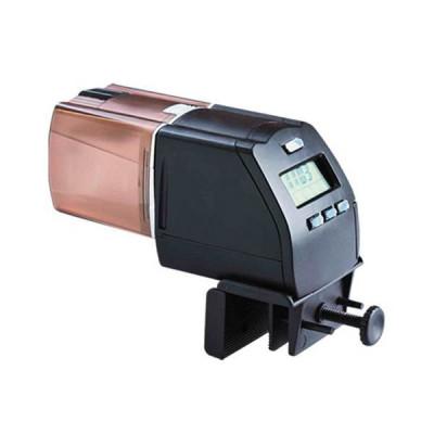 Hrănitor automat digital pentru peşti AquaNova, ecran LCD foto