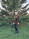 Cumpara ieftin Vesta blana sintetica Kaki