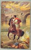 AD 260 C. P. VECHE -QUO VADIS ?-VINICIUS ON THE BORDERS OF TIBER-RIVER -PATATA, Franta, Circulata, Printata