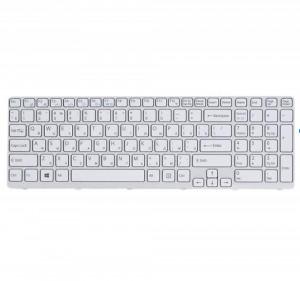 Tastatura Laptop, Sony, Vaio SVE151J11M, alba