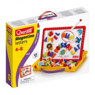 Set litere magnetice mari Magnetino Letters, 48 piese, 4 ani+ foto