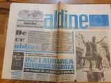Ziarul aldine 1 martie 1996 - anul 1,nr,1-instaurarea guvernului groza