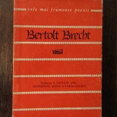 BERTOLT  BRECHT -CELE MAI FRUMOASE POEZII