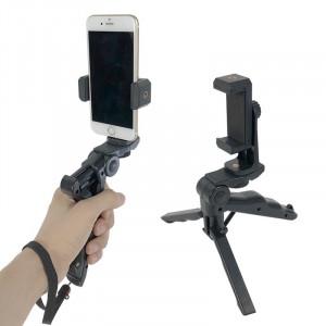 Mini trepied cu suport telefon 360 stabilizator filmare adaptor telefon trepied