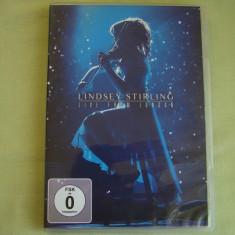 LINDSEY STIRLING (Vioara) - Live From London - D V D  Original, DVD