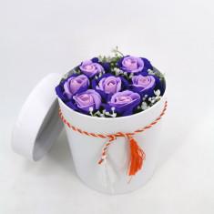 Set cadou Trandafiri sapun 4