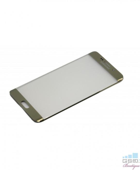 Geam Sticla Samsung Galaxy S6 edge+ SM G928T Gold