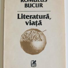 Romulus Bucur - Literatură, viață