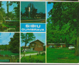 CPIB 16128 CARTE POSTALA - SIBIU, DUMBRAVA, MOZAIC