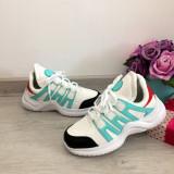 Cumpara ieftin Adidasi colorati albi verzi negri ucu siret pt baieti / fete 31