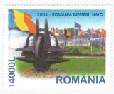 România, LP 1633/2004, România membră NATO, MNH