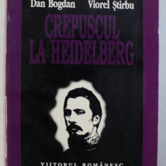 CREPUSCUL LA HEIDELBERG ( AL . IOAN CUZA SI TRANSILVANIA ) de DAN BOGDAN si VIOREL STIRBU , 1995 , PREZINTA HALOURI DE APA*