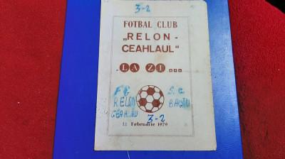 program Relon Ceahlaul PN - SC Bacau foto