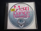 various - Maxi Dance Sensation 15 _ dublu cd _ Ariola (1994, Germania)