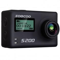 Camera Video Sport 4K iUni Dare S200 Black, WiFi, GPS, mini HDMI, 2.4 inch LCD, Unghi filmare 170 grade