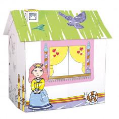 Cort de joaca - Deseneaza casuta printeselor - Bino