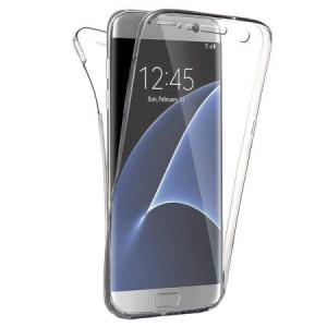Husa Full Cover 360 (fata + spate) pentru Samsung Galaxy S8 Edge Silver
