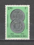 Luxemburg.1972 50 ani Uniunea economica Belgia-Luxemburg  SL.761