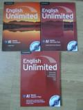 ENGLISH UNLIMITED VOL.1-3. A1 STARTER COURSEBOOK. STARTER TEACHER'S PACK. STARTER SELF-STUDY PACK (CONTINE 2 DVD