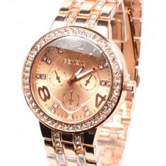 Ceas de mana dama casual - elegant Geneva GV0601AUR
