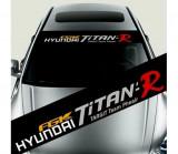 Sticker parasolar auto Hyundai