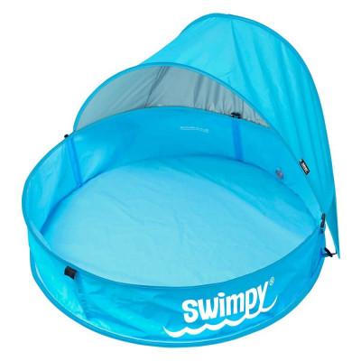 Piscina pentru bebelusi cu acoperis si protectie UPF50+ Swimpy foto