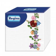 Servetele de masa REGINA Flowers 1 strat 55 buc