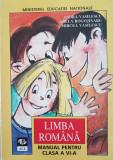 LIMBA ROMANA MANUAL PENTRU CLASA A VI-A - Vasilescu, Rogojinaru