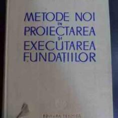 Metode Noi In Proiectarea Si Executarea Fundatiilor - H. Lehr E. Stanescu S. Andrei I. Mancliu ,547576