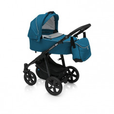 Carucior multifunctional 2 in 1 Baby Design Lupo Comfort 05 Turquoise 2017