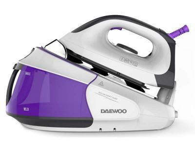 Statie de calcat Daewoo DSG-9545, 2400W, 4 bari, violet / alb foto