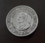 Medalie argint Regele Ferdinand - Al. I. Cuza - M. Viteazul - Marea Unire